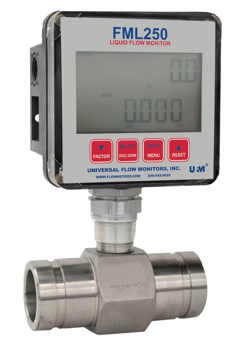 TI FML250 Liquid Flow Monitor
