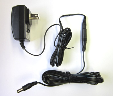 24 VDC wall plug power supply and extension cord for 5000 Series meters (5200-PS)