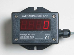CDI AVD Averaging Remote Display of Compressed Air Flows (6000-AVD)